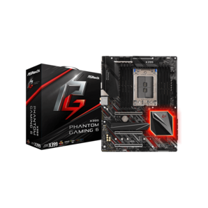 ASRock Socket TR4 AMD X399 ATX マザーボード X399 Phantom Gaming 6